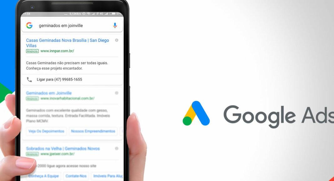 Gestão de campanhas no Google Ads