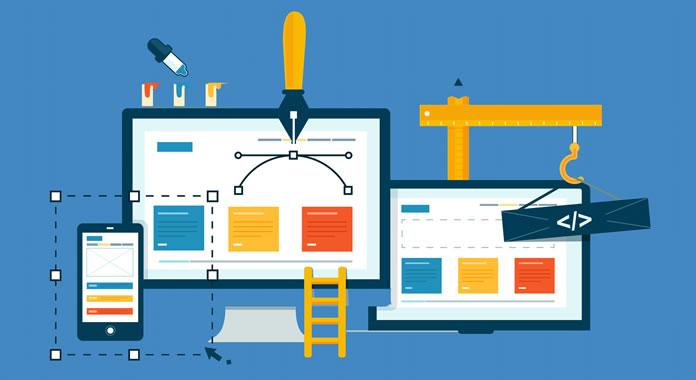 Como montar um site