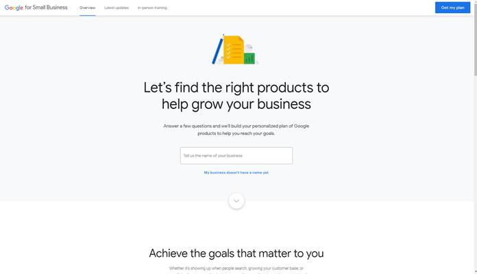 Google Para Pequenos Negócios